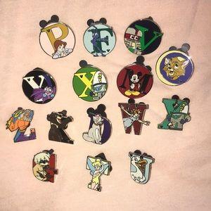 Disney World 15 Pin Bundle